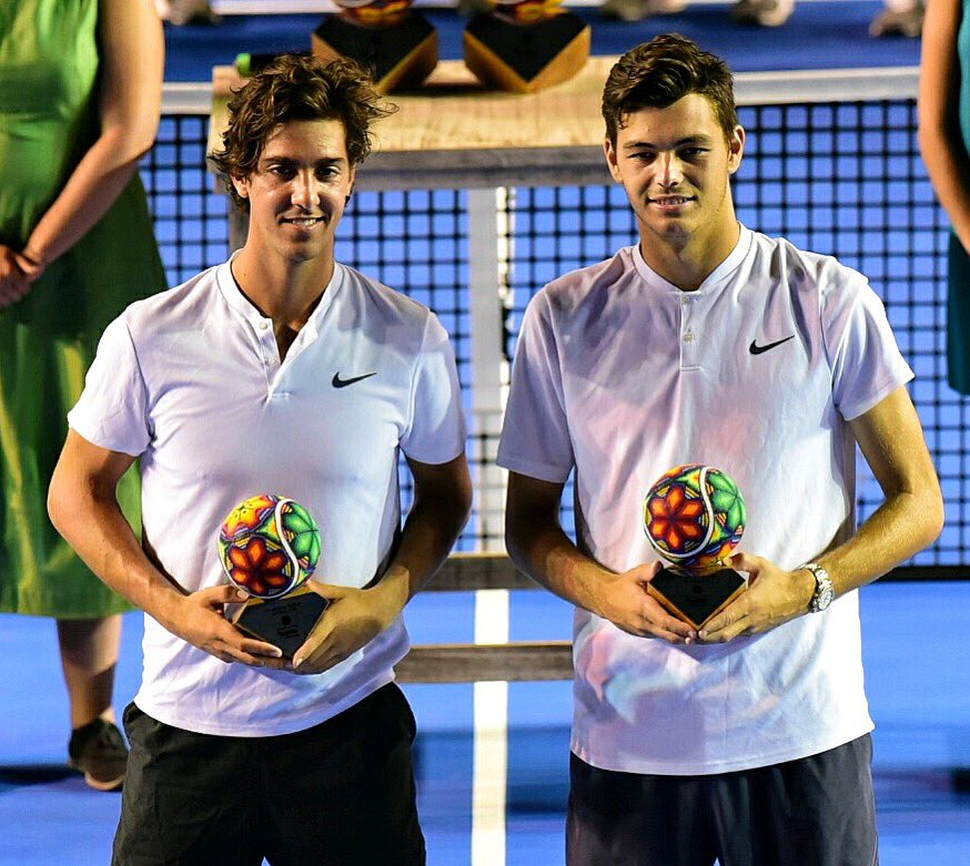 Dubs life 🥈 @Taylor_Fritz97 0 from 2 🤦🏽♂️😅