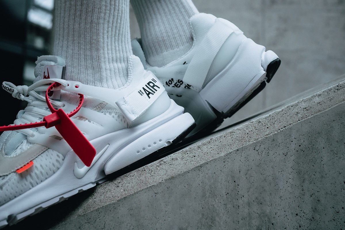 972efe2555e The white OFF-WHITE x Nike Air Presto is dropping again today  🚨🚨