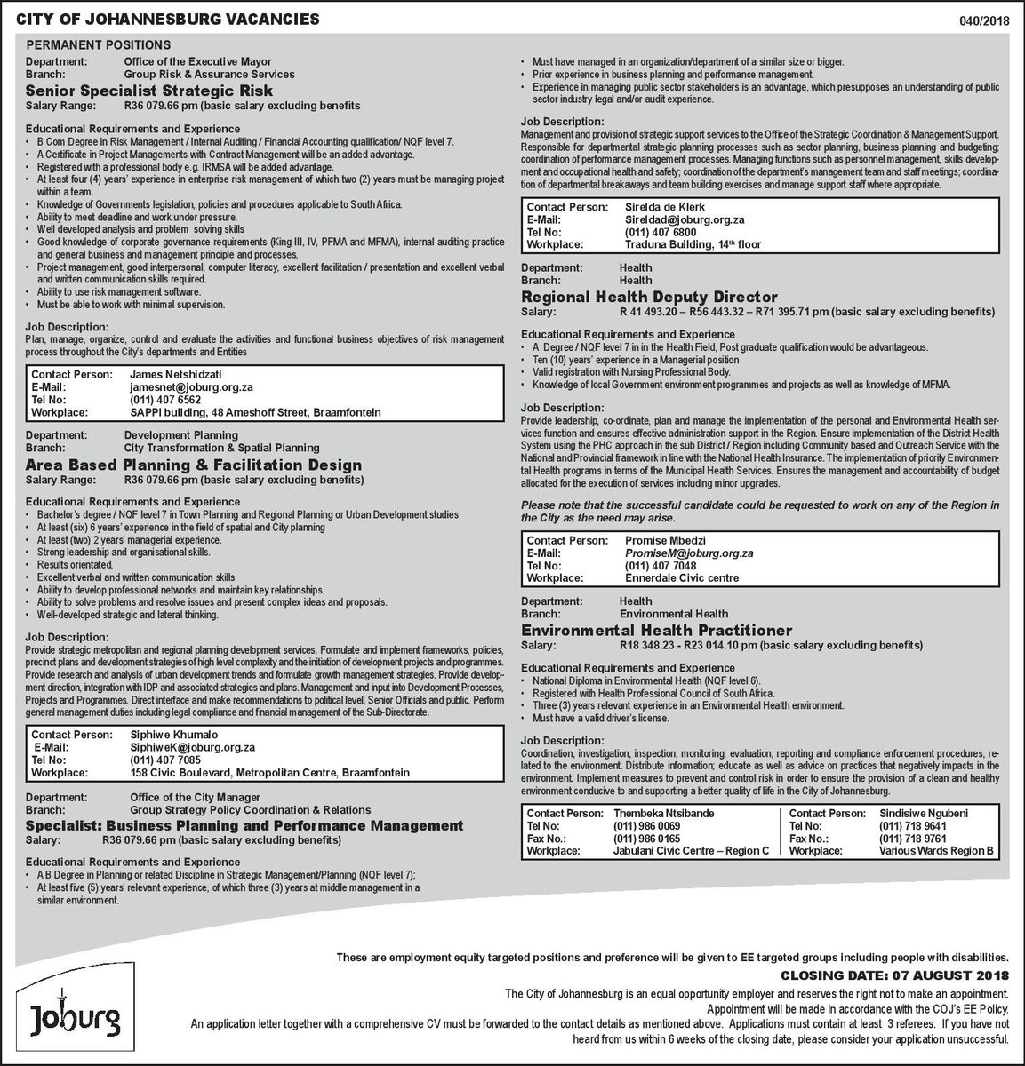 Gkwaqa on twitter go do vetting for yourself all of them you ll see attached for more details tpsjoburgworkdocuments201820docs20tenders20and20quotationsadvert20040 2018 pdf solutioingenieria Choice Image
