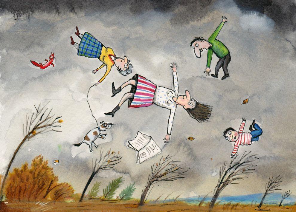 Веселый ветер картинки