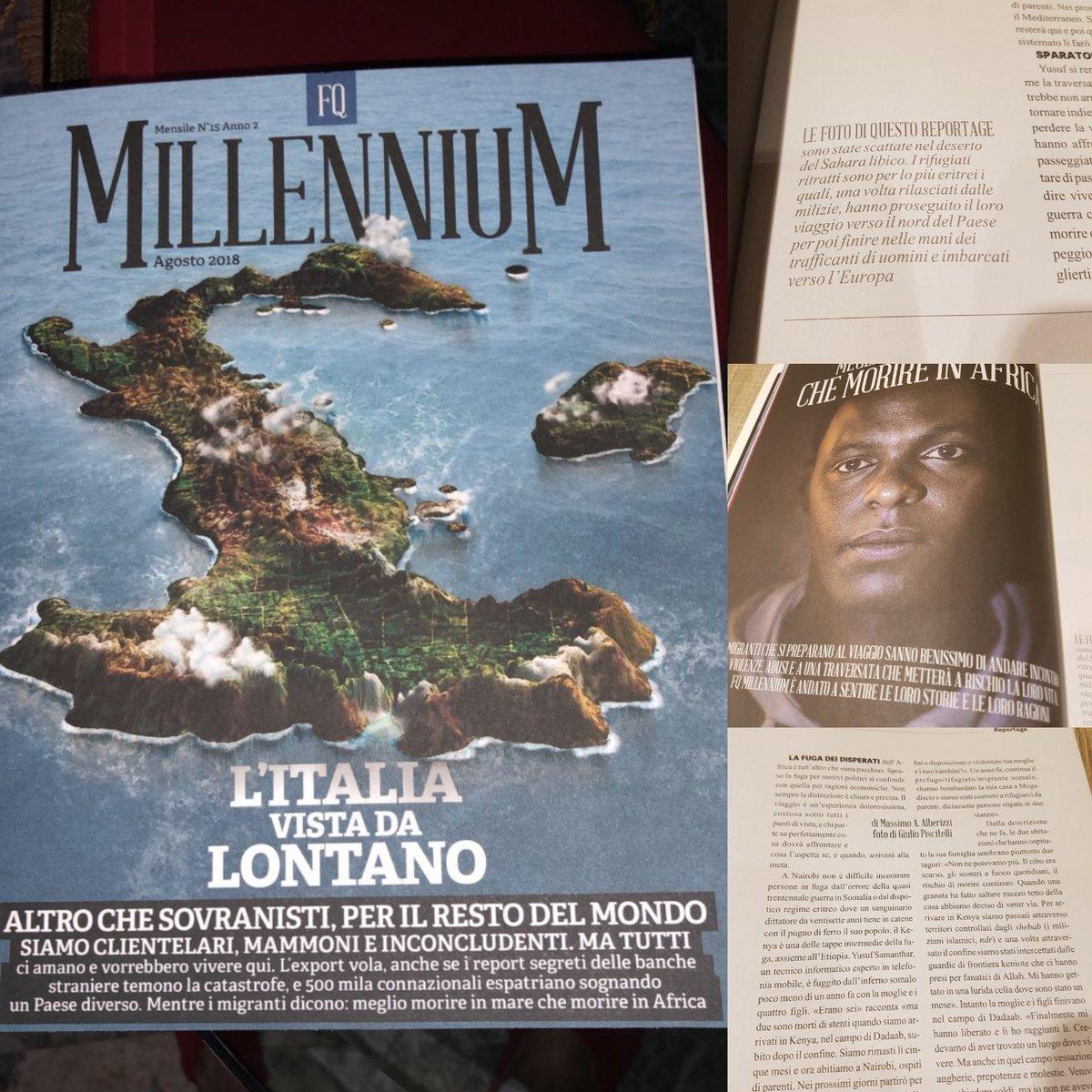 Africa e Migranti.Reportage di Massimo Alberizzi su MillenniuM. #Africa #Sahara #migranti #Millennium #ilfattoquotidiano @fattoquotidiano #massimoalberizzi  - Ukustom