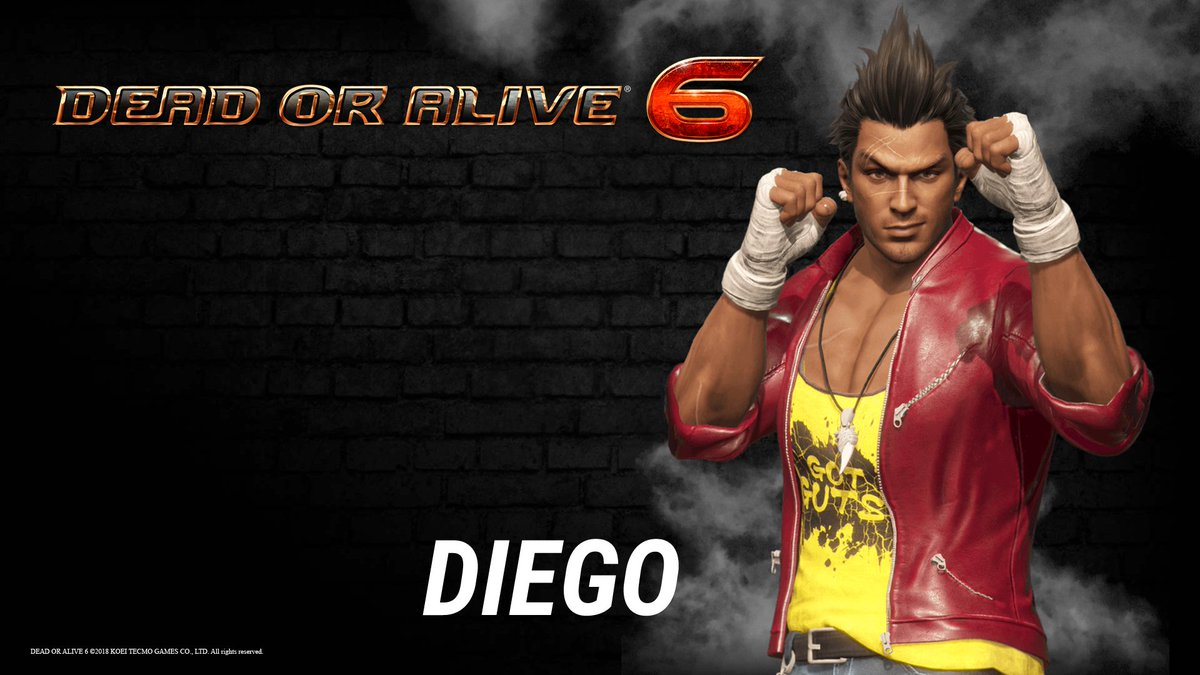 Doainfire On Twitter Diego New Character From Dead Or Alive 6