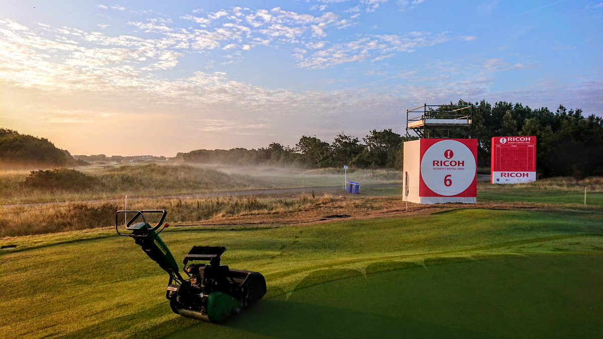 test Twitter Media - A misty start to the final day of prep down here. Had a ball but now it's time to come back up the road, soak my feet in a basin and sleep. Thanks for the memories. @RICOHWomensBrit @RoyalLythamGolf https://t.co/qTKI3RlsM4