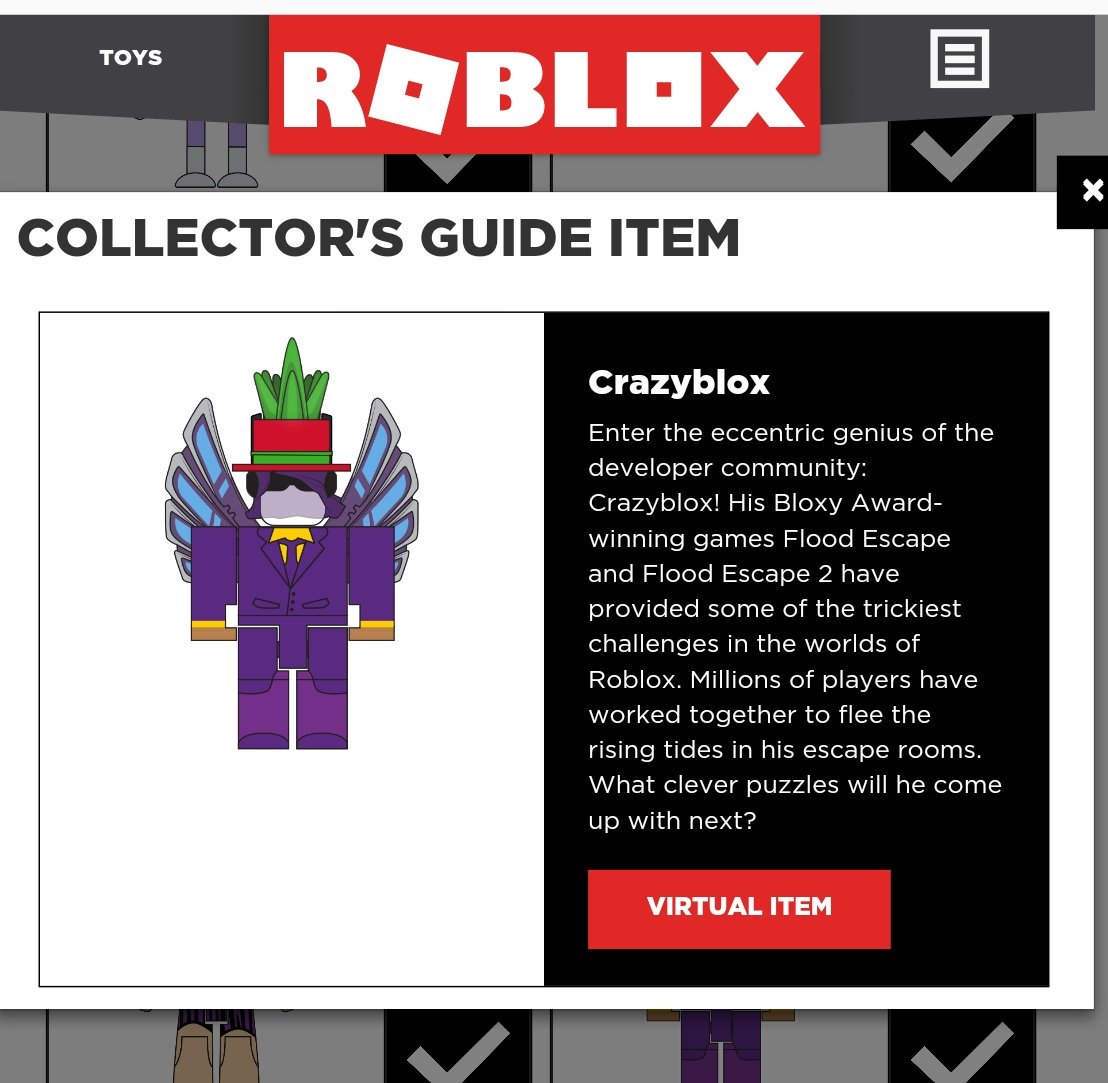 Crazyblox On Twitter I M Now Officially A Roblox Toy D I M