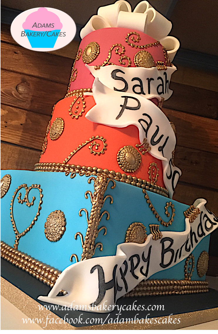 Adams Bakery Cakes On Twitter 3 Tier Joint Birthday Celebration