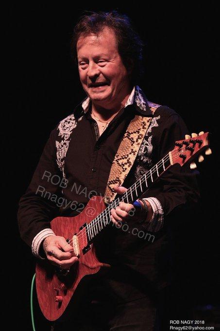 Happy 70th birthday to guitarist Rick Derringer.  Rob Nagy Archives