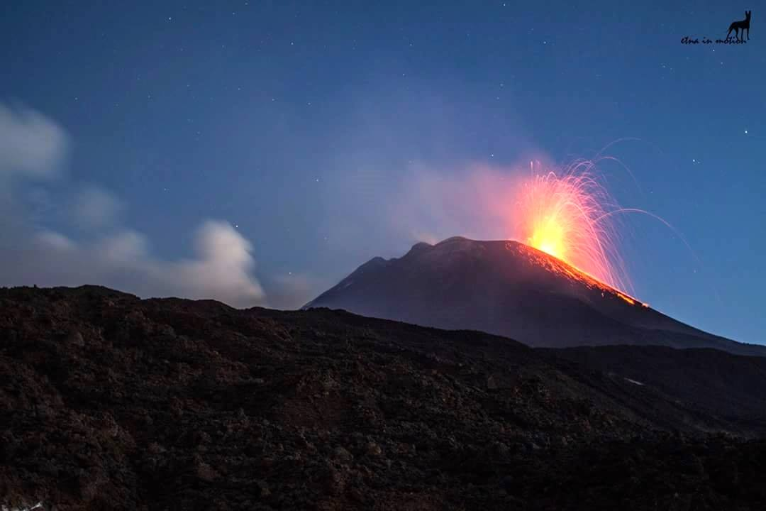 вулкан август 2018