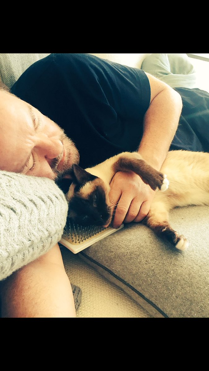 Last night was the #AfterLife wrap party. Today is mainly napping.