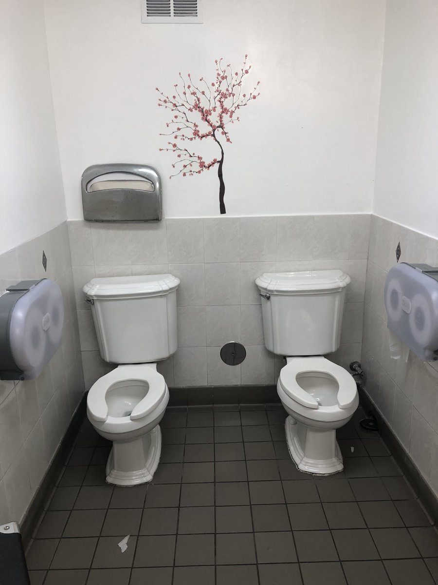 We really enjoy all the interesting things we encounter when visiting new locations   What are your thoughts on this #restroom ?  #keepingitclean #cmcleaningla #janitorial #cmcleaningla #limpieza #bathroom<br>http://pic.twitter.com/IhVRqqjVGn