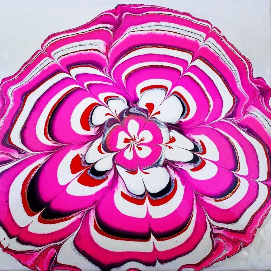 Bottle bottom pour from  http://www. acrylgiessen.com  &nbsp;   @FluidPainting #art #fineart #abstractart #abstract #artwork #artshow #wallart #artist #artlife #resin #resinart #acrylicpouring #acrylics #acrylicpainting #abstract<br>http://pic.twitter.com/UGt3Bzx2Yf