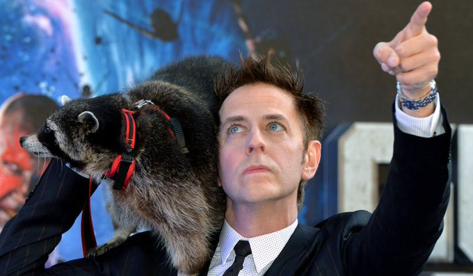 Happy birthday to writer-director James Gunn! Now playing THE GUARDIANS OF THE GALAXY.