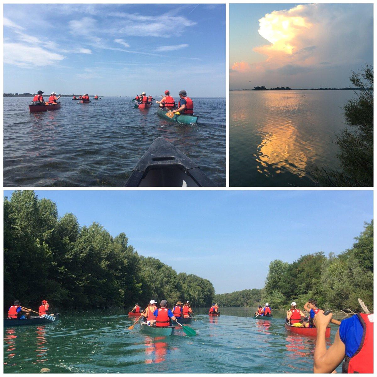 Diritti alla meta. Una settimana di impegno, scoperta e collaborazione: #canoa scuola di vita!#clanLaCordata @agescivr3 #scout Tagliamento e laguna di Marano e Grado  - Ukustom