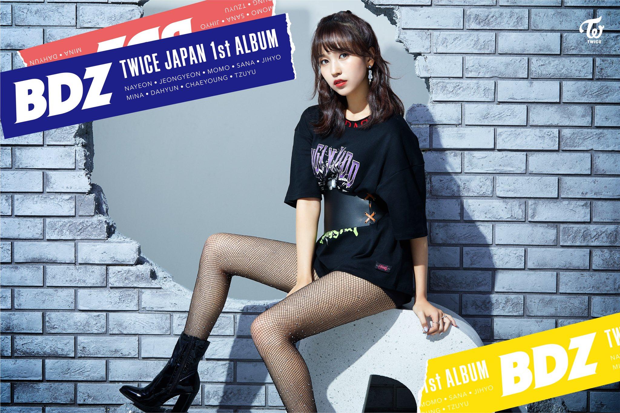 TWICE JAPAN 1st ALBUM『BDZ』  2018.09.12 Release  MINA  https://t.co/U5Bn1KOa1k  #TWICE #BDZ https://t.co/A9EhlgTUNF