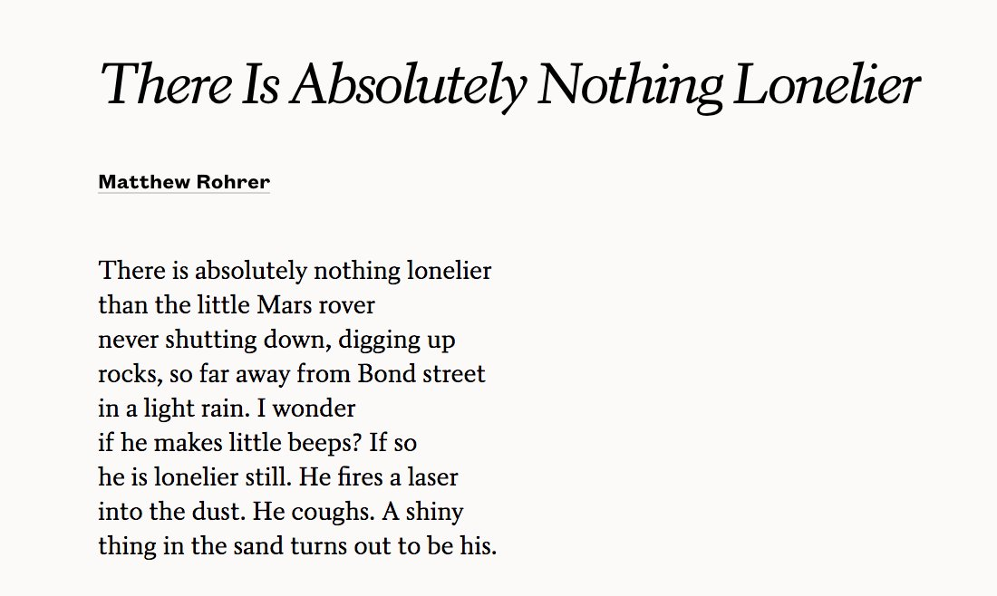 absolutely nothing poem