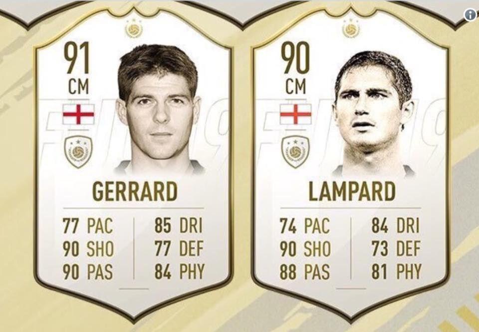 FIFA 19: Steven Gerrard vs Frank Lampard. Debate settled.