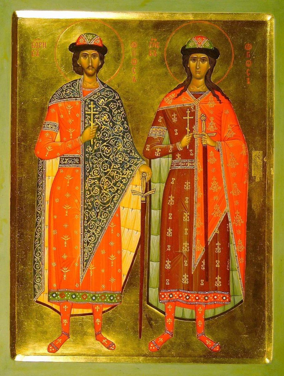 Картинки князья борис и глеб