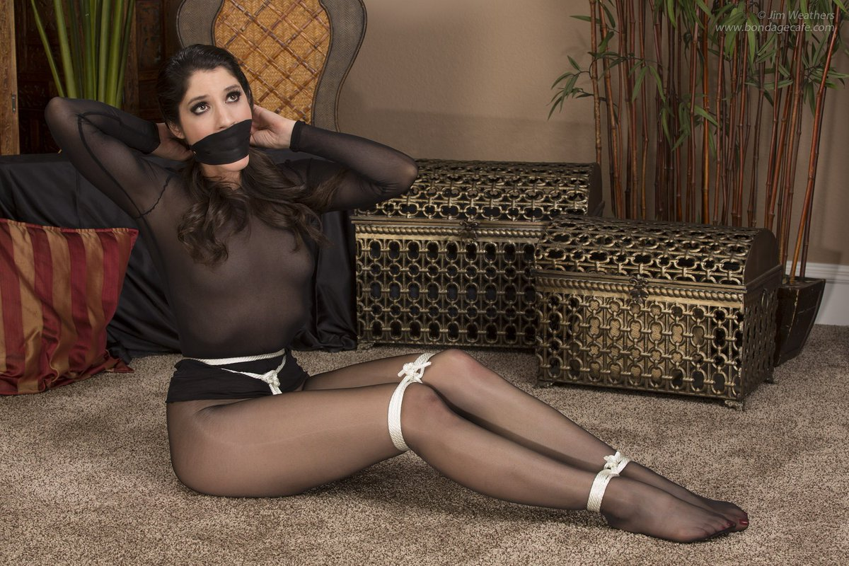 Pantyhose tights bondage stories
