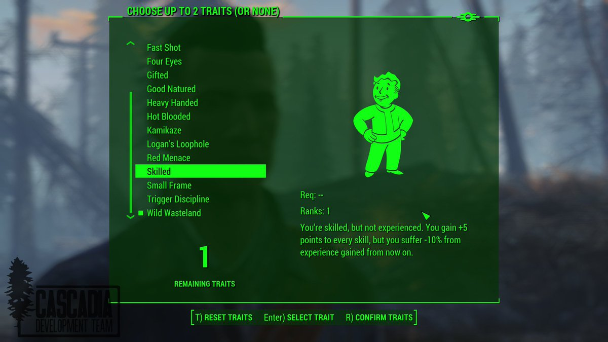 Fallout Cascadia a Twitter:
