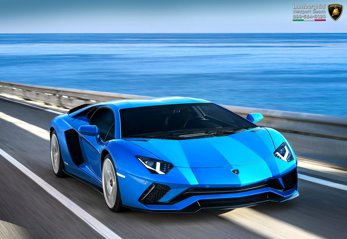 Lambo Newport Beach On Twitter The Aventador S Commands Attention