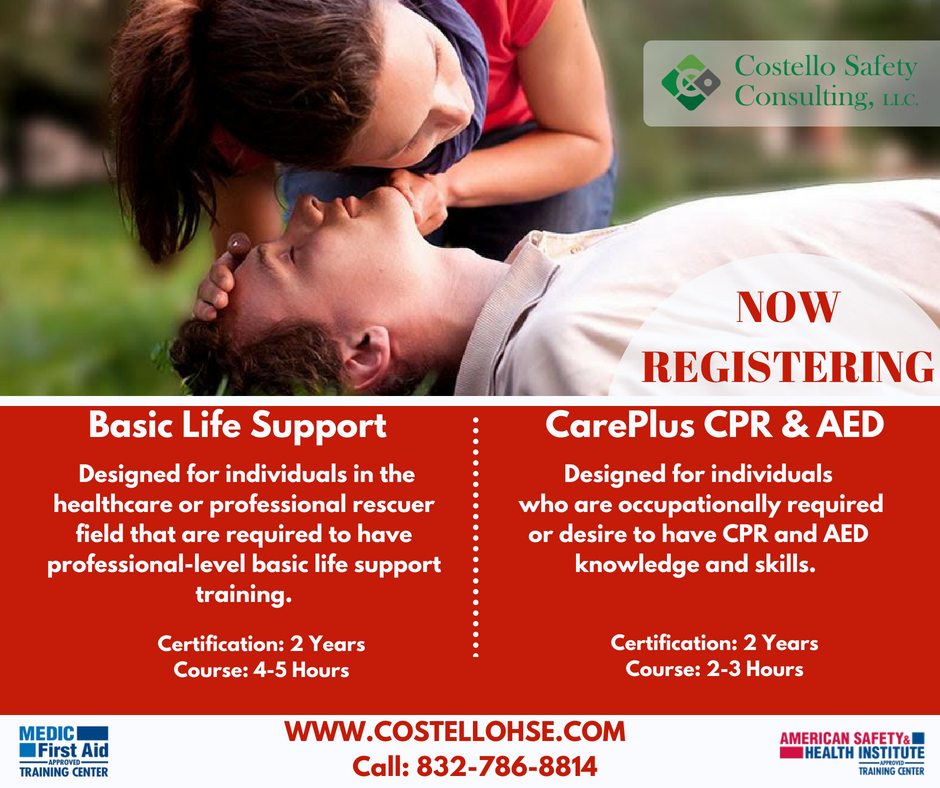 Costello Safety On Twitter We Offer Cpr Training Classes Visit