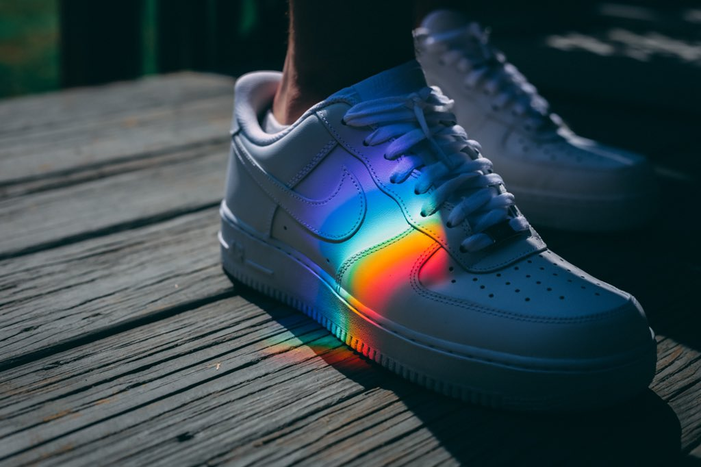 Rainbows add perfect color to everything because it's got all the colors