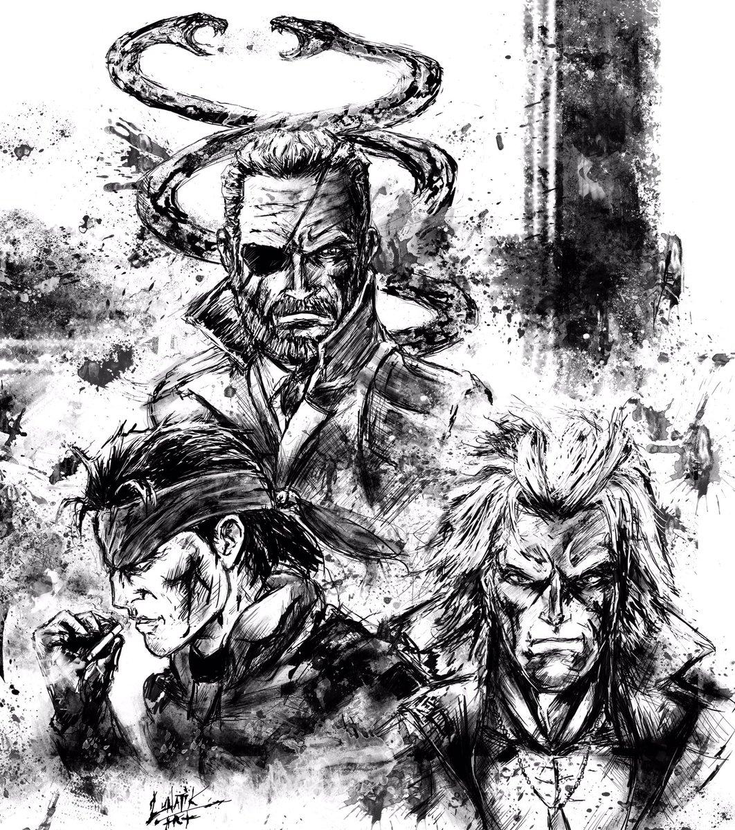 Art Of Lunatik On Twitter Still Celebrating Metalgear31st