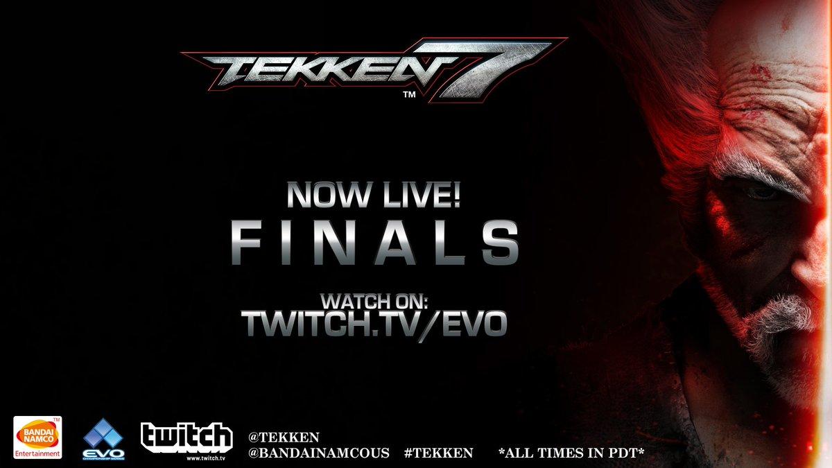 Tekken On Twitter Now Live It S The Start Of The Tekken Top 8