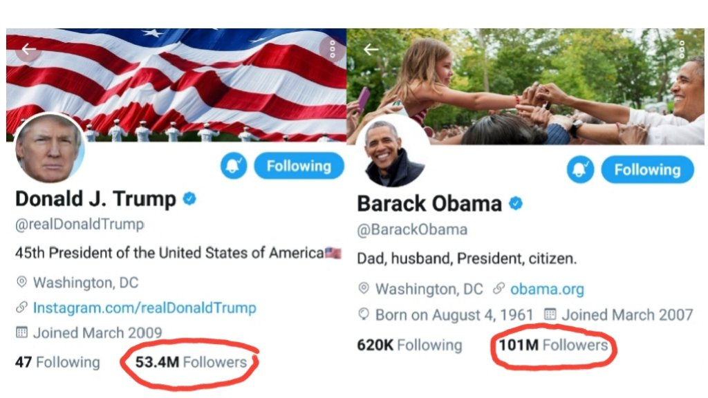 But, somehow he STILL has almost twice as many followers as you do in  here.  That&#39;s gotta sting, huh?  #ObamaDay #ThanksObama #FragileEgomaniac<br>http://pic.twitter.com/En2S5qSLOX