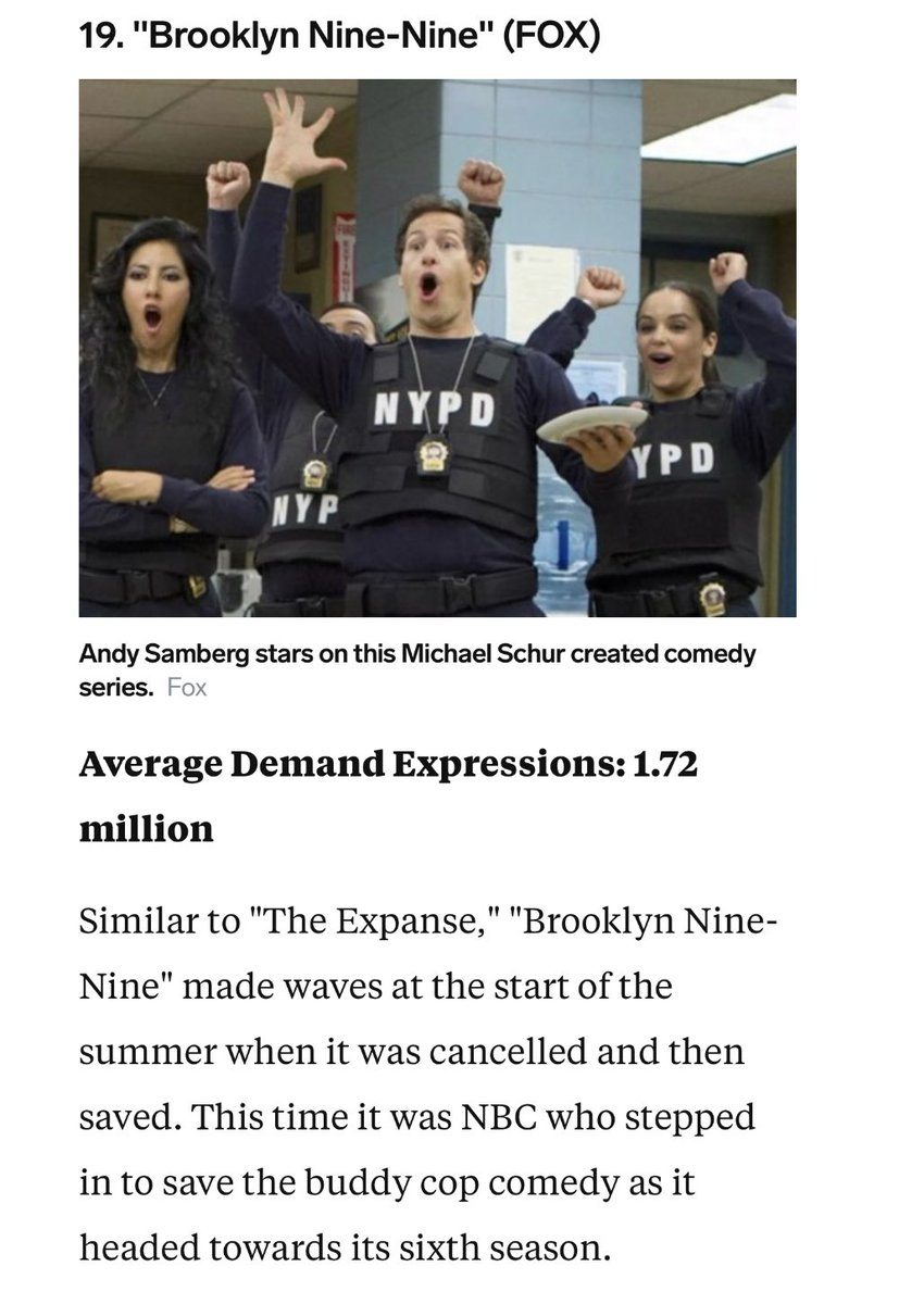 NEWS | The 20 most popular TV shows of the summer (Via thisisinsider.com/most-popular-t…)