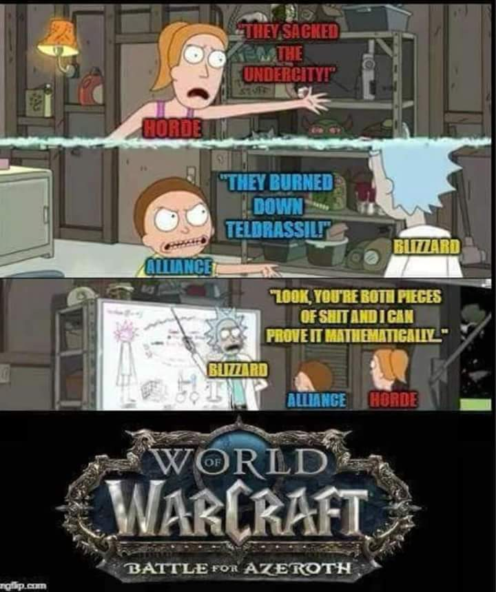 Warcraft Memes On Twitter You Both Suck Lesson 1 Warcraft