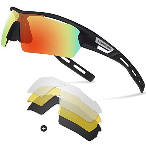b0101e5b51  Torege  Polarized  Sports  Sunglasses for Men Women  Cycling  Running   Driving TR033(Black black  tipsRed  lens) http   dlvr.it Qdws3S pic.twitter.com   ...