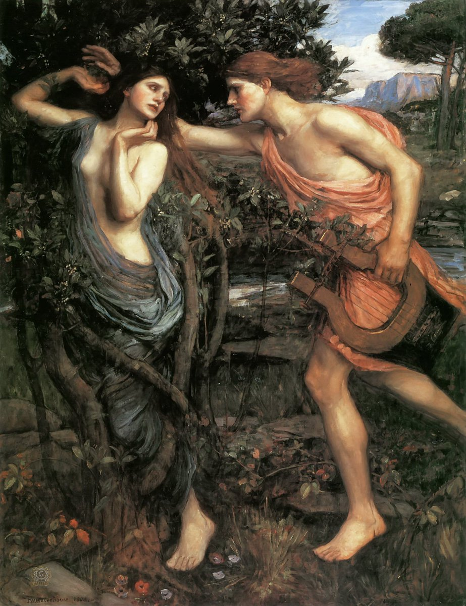 a report on the story of daphne and apollo in the ancient greek mythology Apollo (ancient greek: ἀπόλλων) is the son of zeus and leto his twin sister is artemis  he was the god of the arts, music, healing, purification, prophecy, oracles, plague, poetry, civilization, the sun, truth, intelligence, logic, reason, and archery, he also showed men the art of medicine.