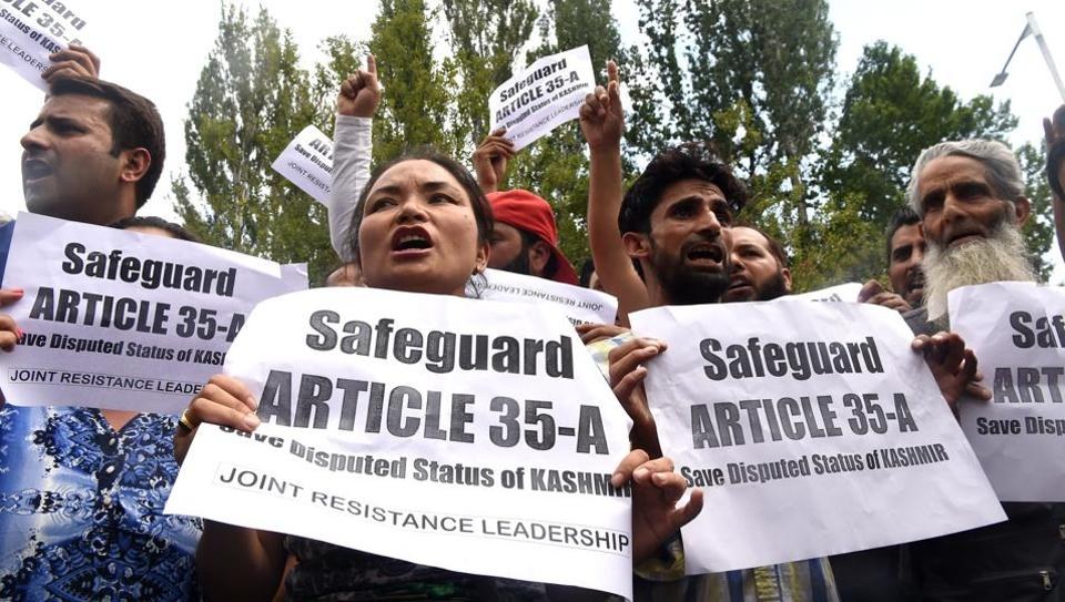 #Article35A - Kashmir on High Alert