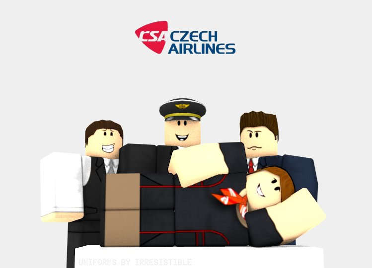 Czech Airlines Roblox on Twitter: