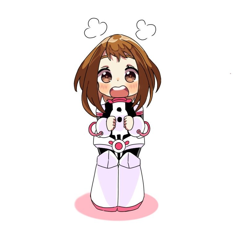 G U M On Twitter A Tiny Uraraka Ochako When Ochako Blushed