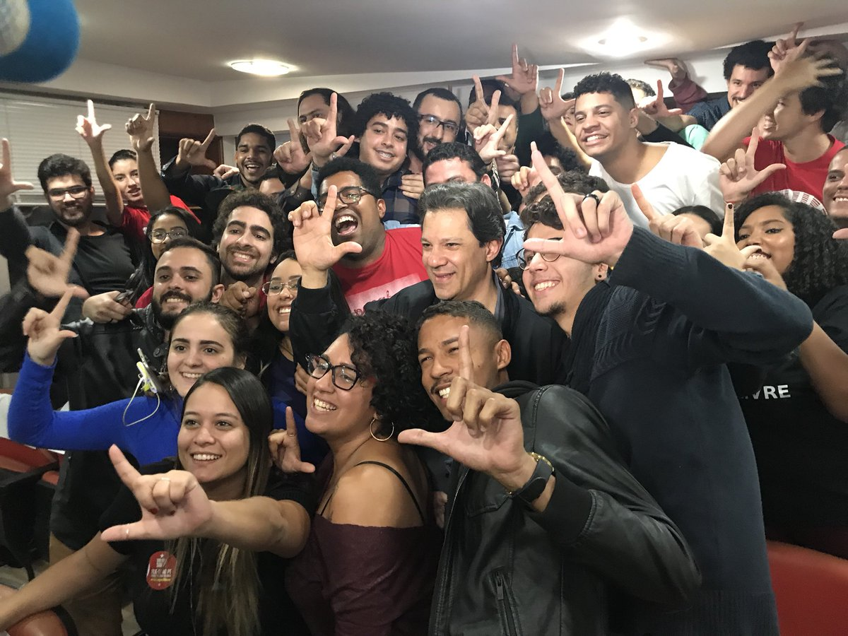 Lula, Haddad e Manu é o verdadeiro Triplex 2018!