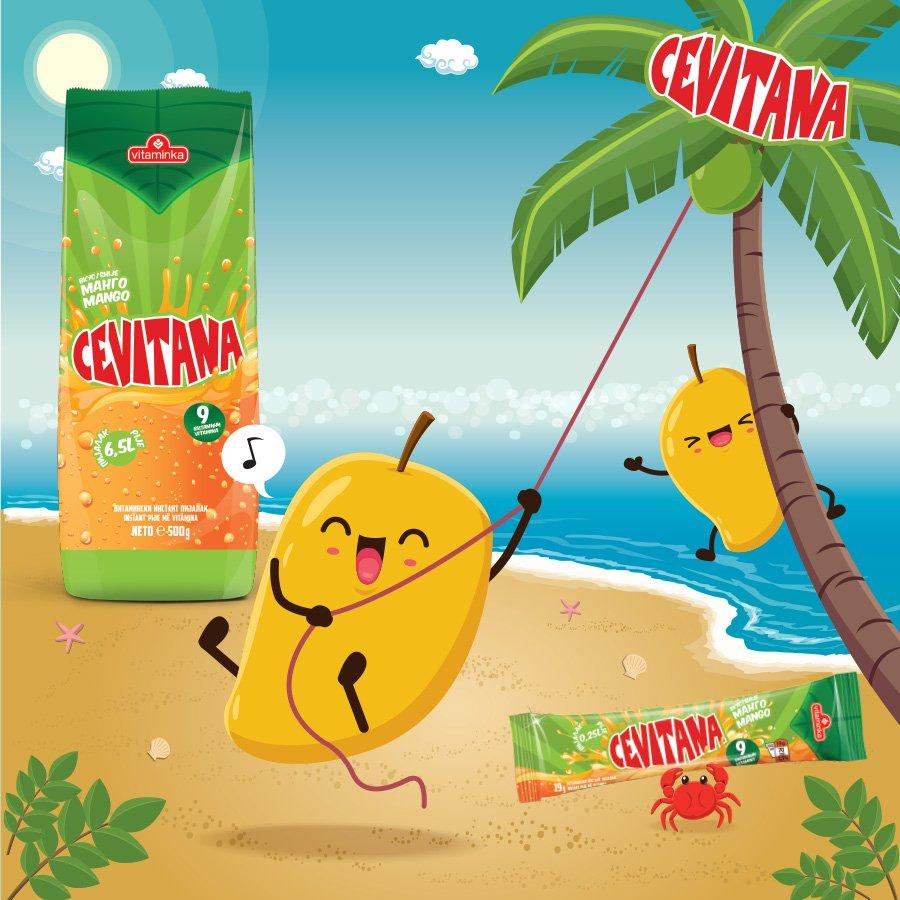 Животот е песна со #Cevitana манго. 🎶 https://t.co/XBeurVkUTu