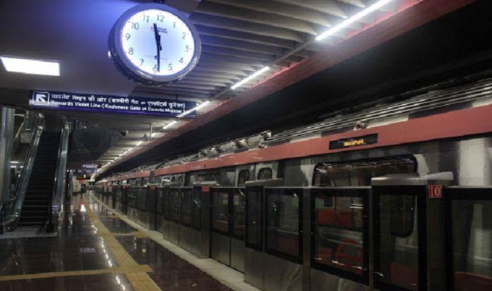 Doordarshan News On Twitter Delhi Metro PinkLines South Campus