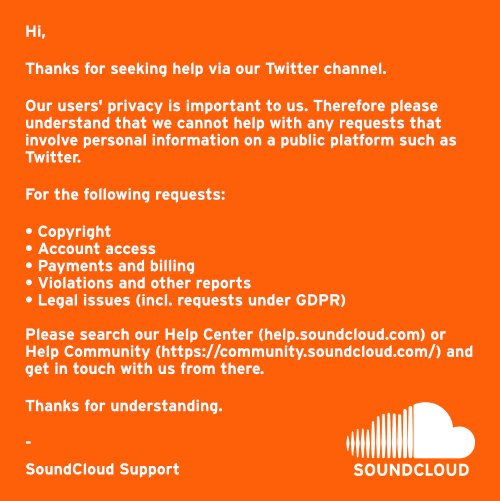 SoundCloud Support (@SCsupport) | Twitter