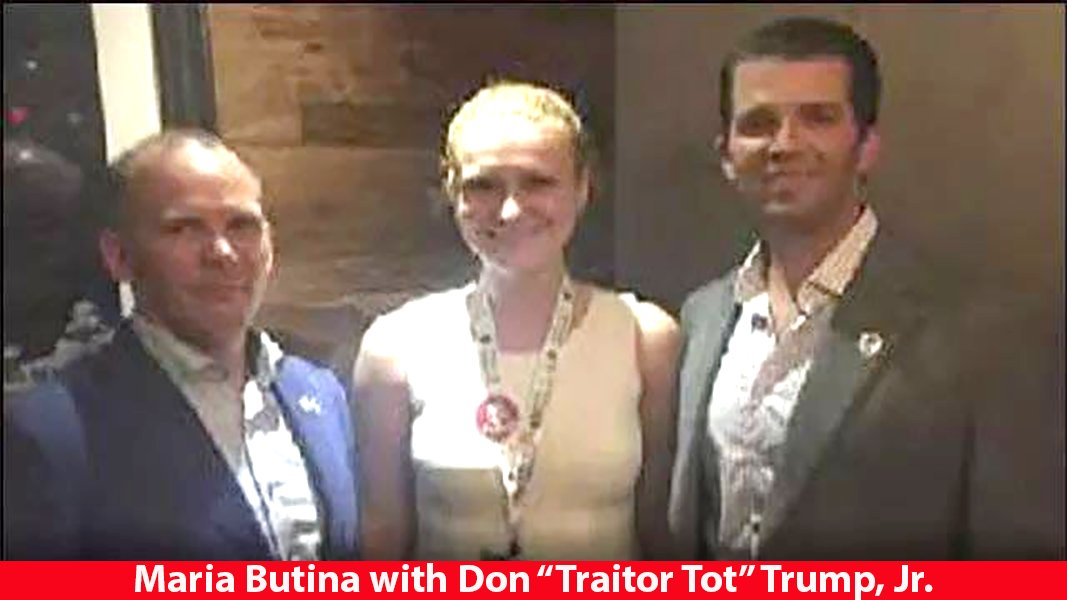 """Mrs. Betty Bowers on Twitter: """"EVEN BEFORE JUNE 9 MEETING: May 2016: Maria  Butina's lover sent email to Trump campaign. Title: """"Kremlin Connection.""""  Said Russia will make """"first contact"""" at NRA convention."""