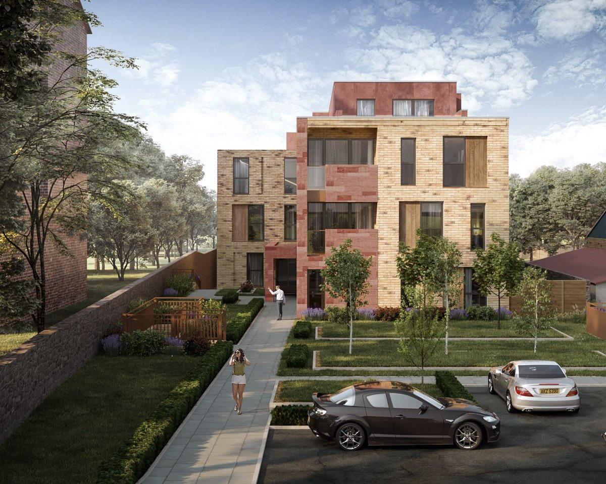 A Development Of 24 Apartments Located On Woolton Road Project Details S Blackmorehomes Property Developments Maldon Lodge Liverpool