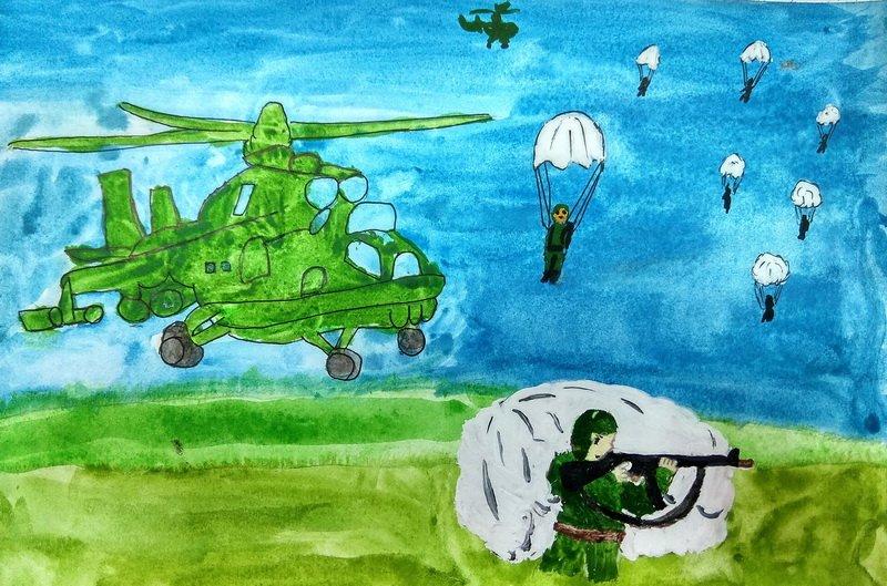 рисунки десантников картинки фото