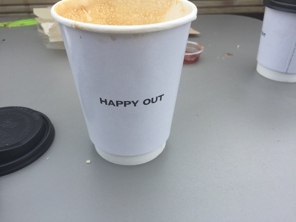 If you haven't been to Happy Out on way to dollymount, don't go: it's great and I don't want yiz adding to the queues