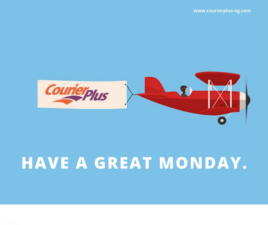 Hello Monday! Be happy, be creative. #motivationmonday #logistics #courierplus
