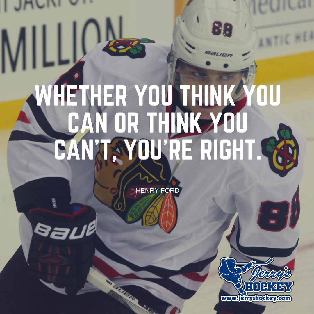 #MondayMotivation If you believe in yourself, everyone else will. #JerrysHockey