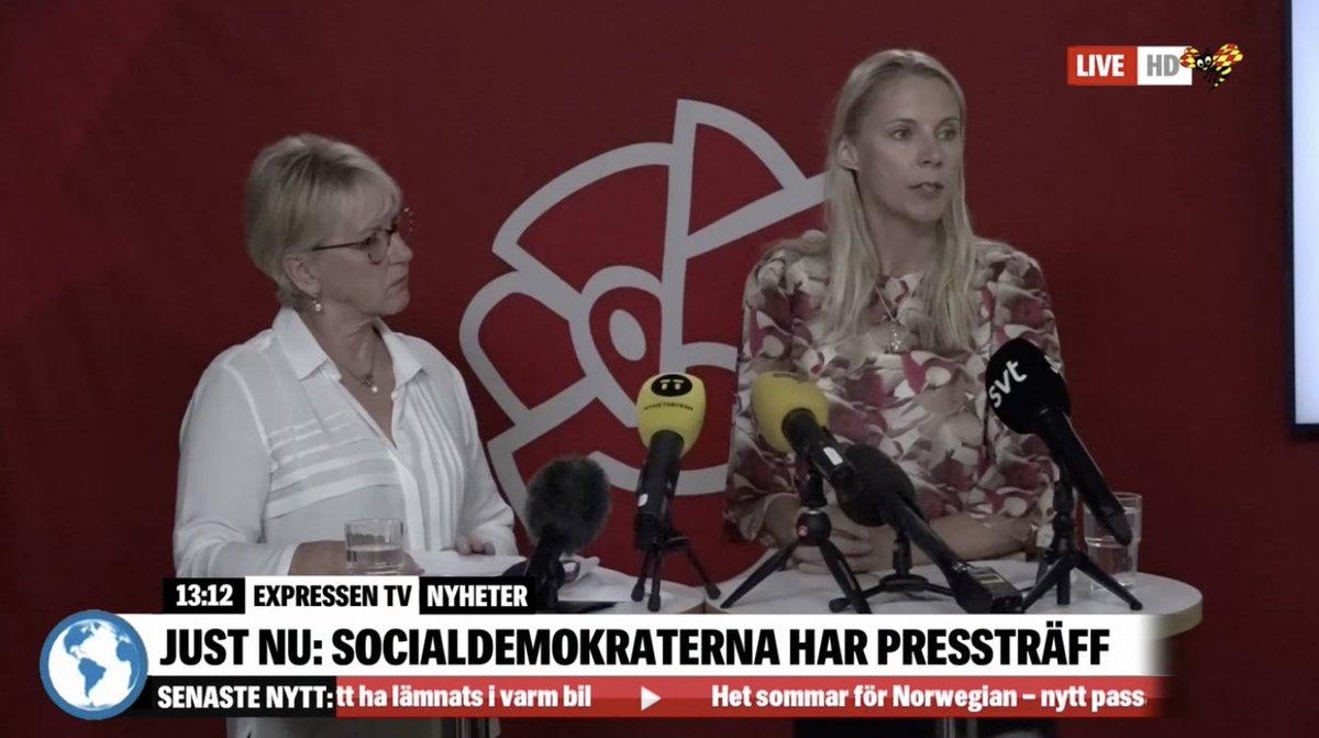 Socialdemokraterna presenterar skattehojningar