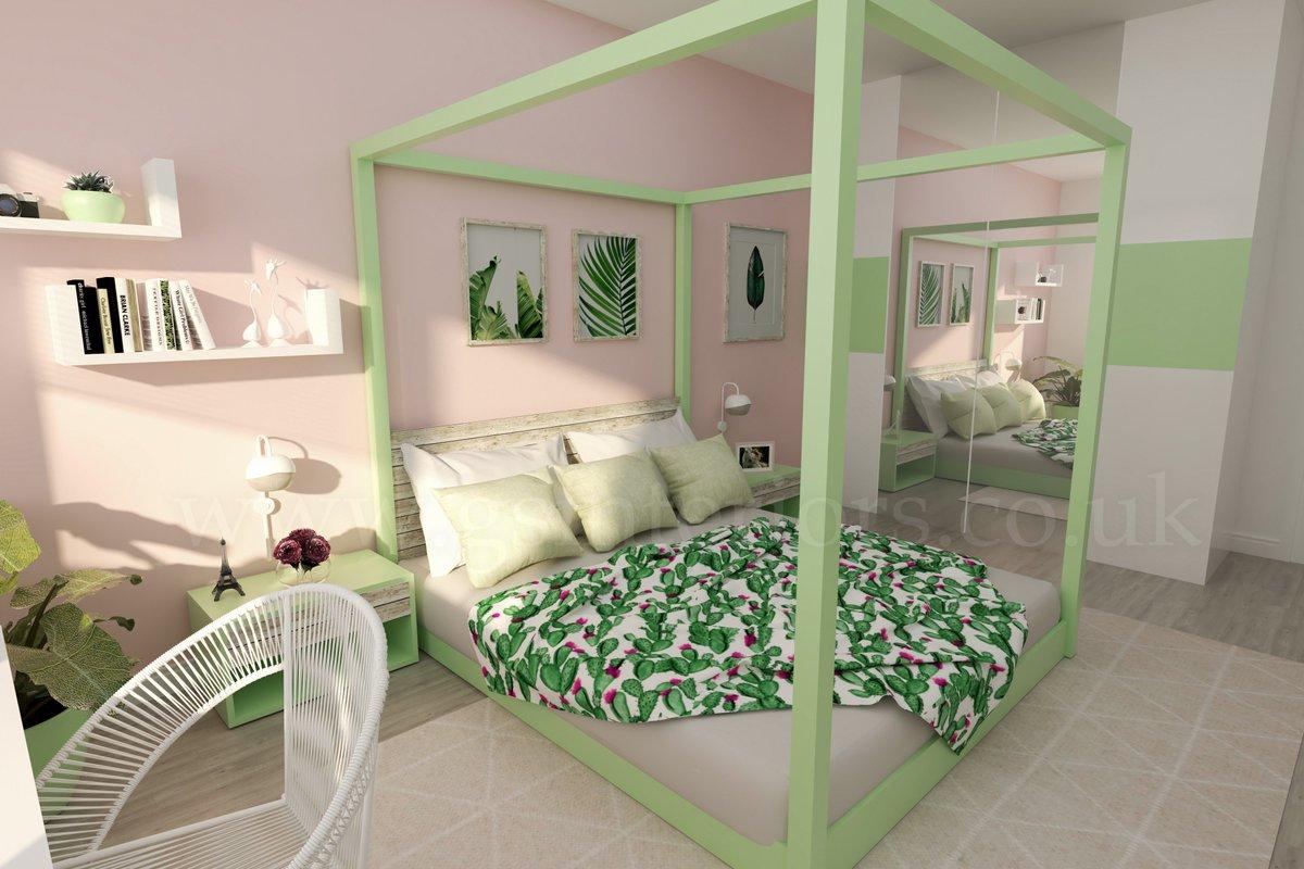 Gsinteriors On Twitter Bedroom 3d Visual Sketchup Vray