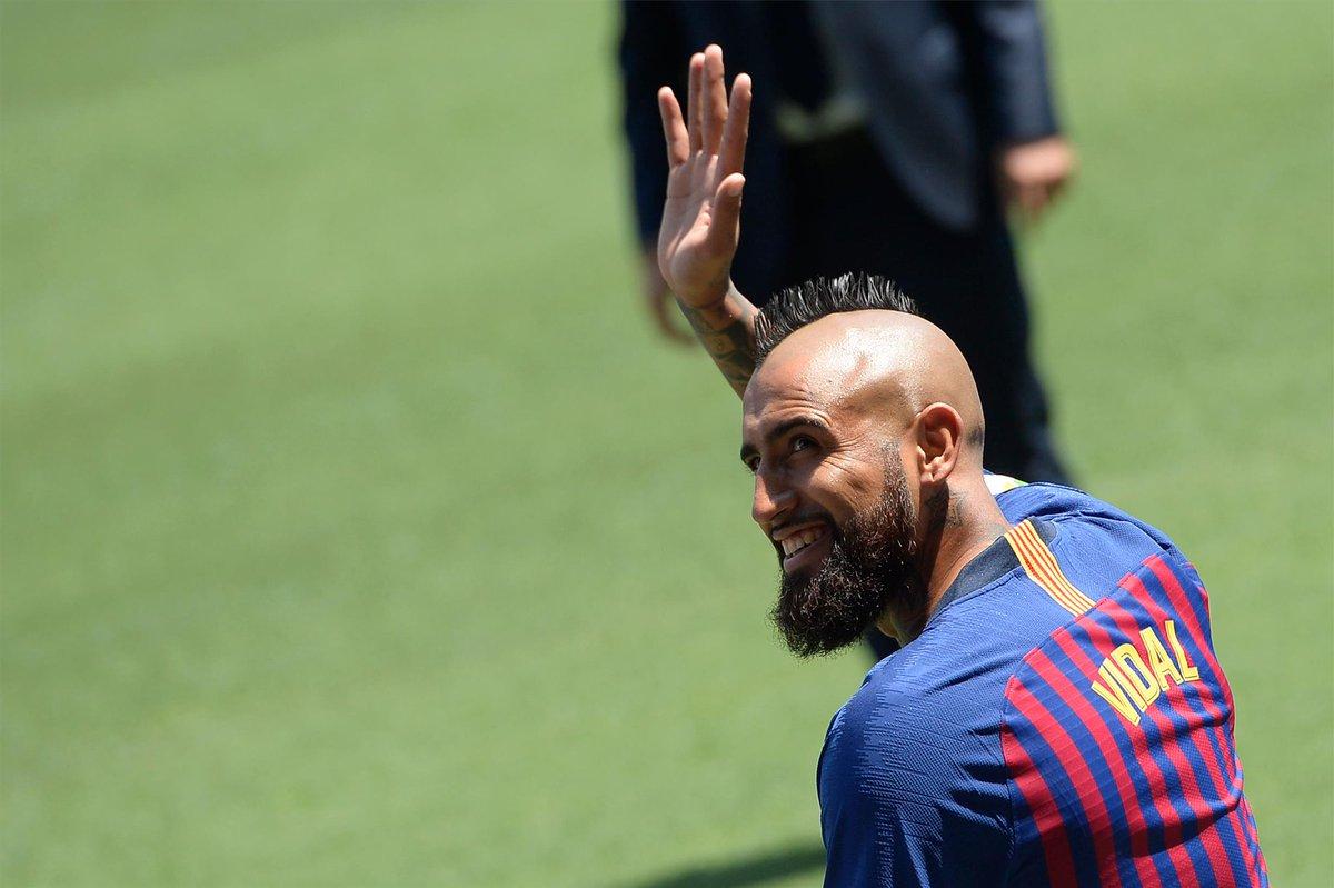 Vidal Tidak Ada Masalah dengan Pelatih Barcelona