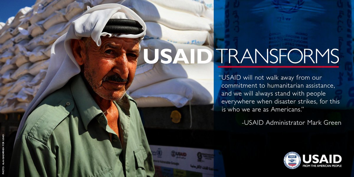 #USAIDTransforms by standing with communities around the world when disaster strikes: https://t.co/tXFqY17rru