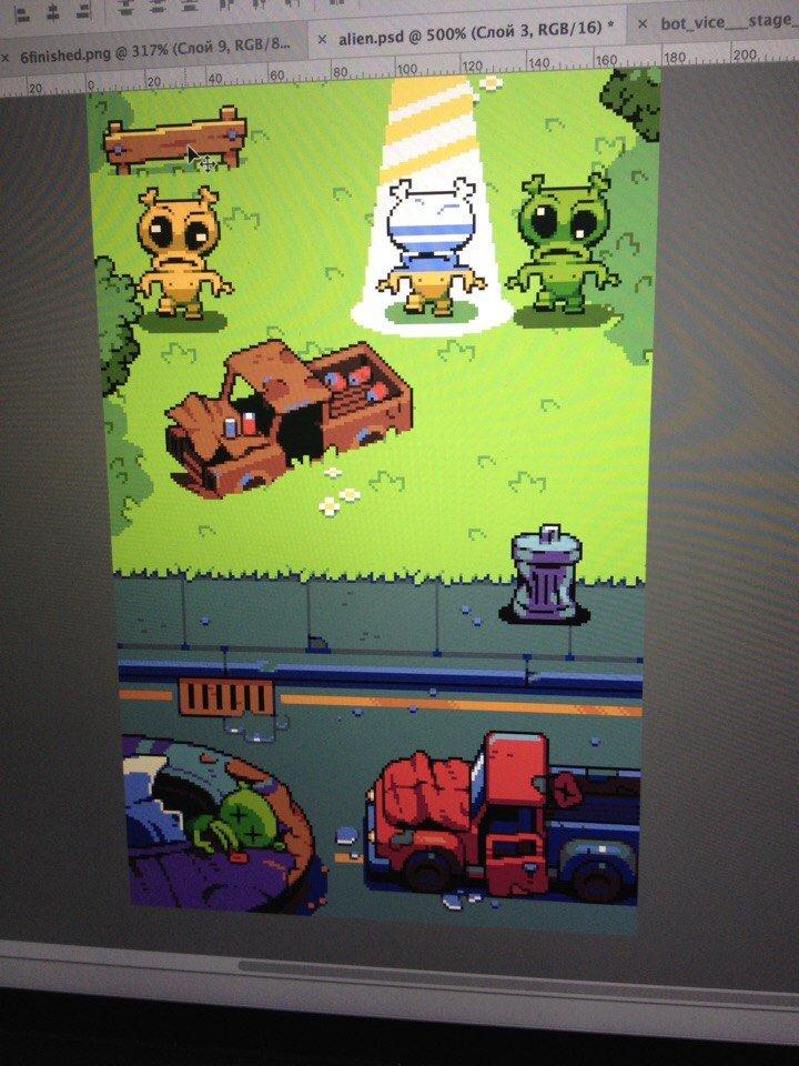 Something #pixel #pixelart #game #indiegame #digitalart